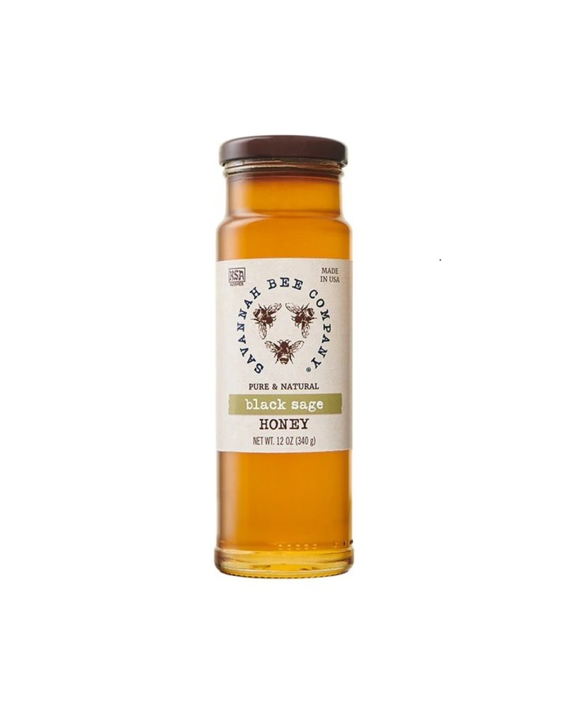 Savannah Bee Company Black Sage Honey 12oz