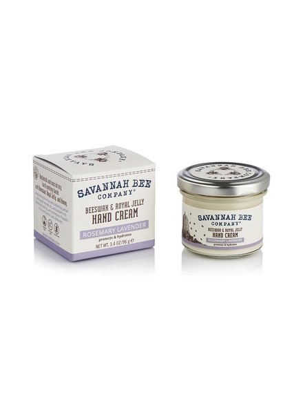 Savannah Bee Company Hand Cream Rosemary Lavender 3.4oz