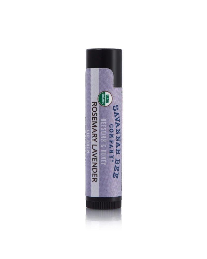 Savannah Bee Company Lip Balm Organic Rosemary Lavender