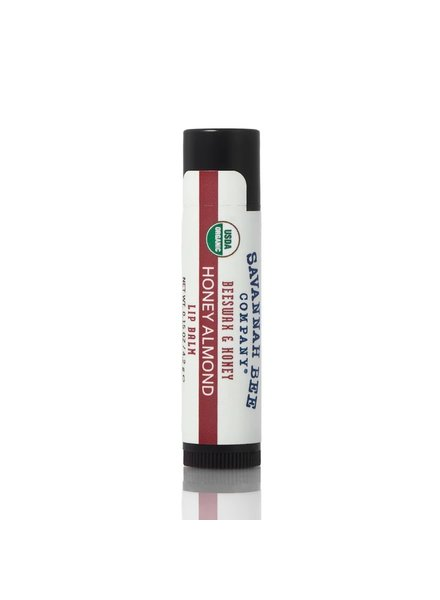 Savannah Bee Company Lip Balm Organic Honey Almond