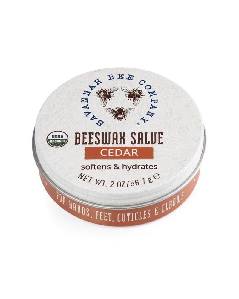 Savannah Bee Company Hand & Nail Salve Cedar