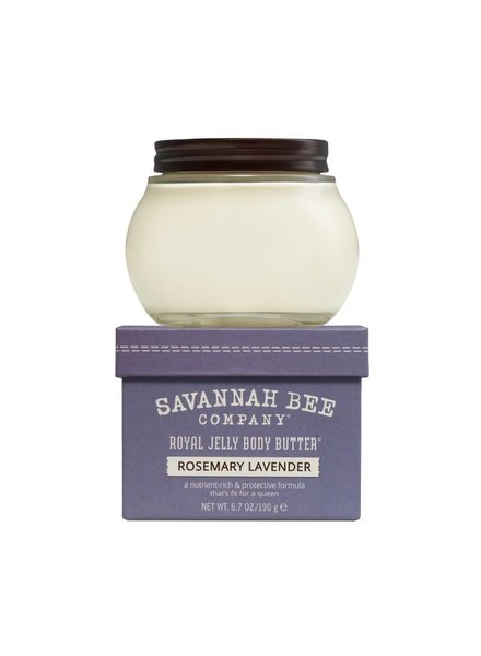 Savannah Bee Company Royal Jelly Rosemary Lavender Lrg