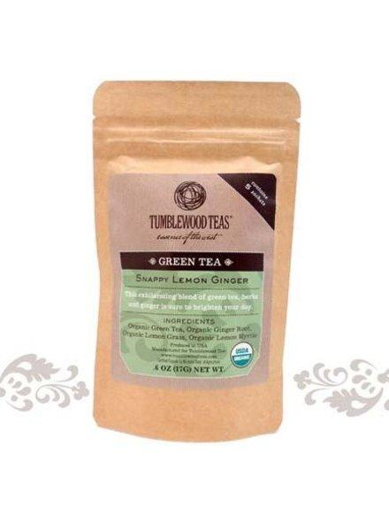 Tumblewood Tea TW Tea 5 Pk Snappy Lemon Ginger