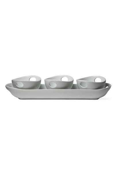 Whiteware Trio Serving Set