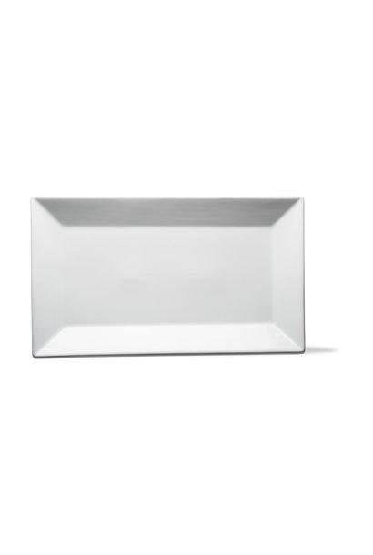Whiteware Rectangular Serving Platter