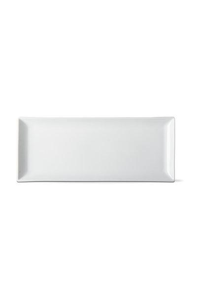 Whiteware Rectangular Serving Platter 18'' X 10.5''