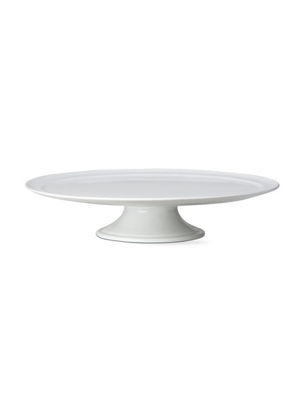 Tag Whiteware Pedestal Cake Plate