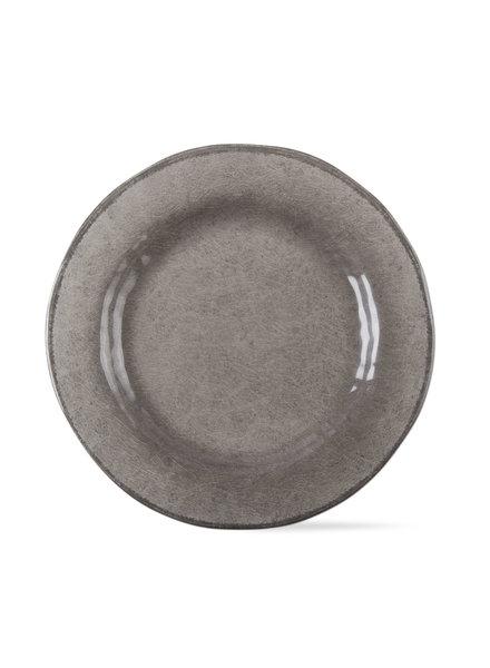 Tag Veranda Warm Gray Dinner Plate