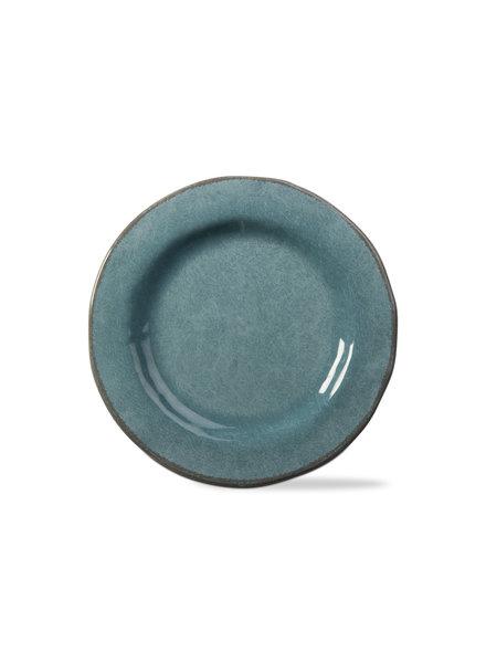 Tag Veranda Aqua Salad Plate