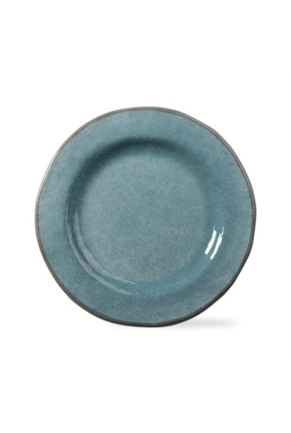 Veranda Aqua Dinner Plate