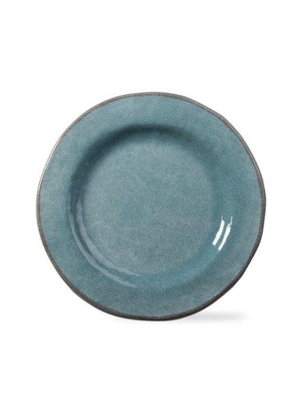 Tag Veranda Aqua Dinner Plate