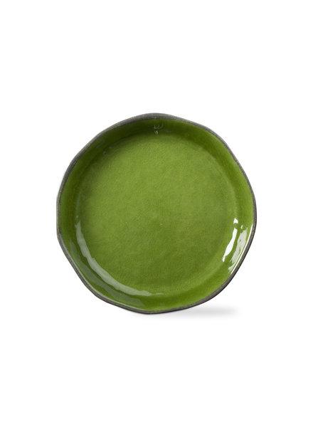 Tag Veranda Green Shallow Serve Bowl