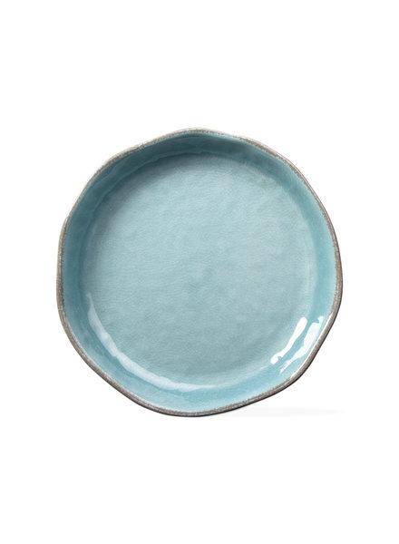 Tag Veranda Aqua Shallow Serve Bowl