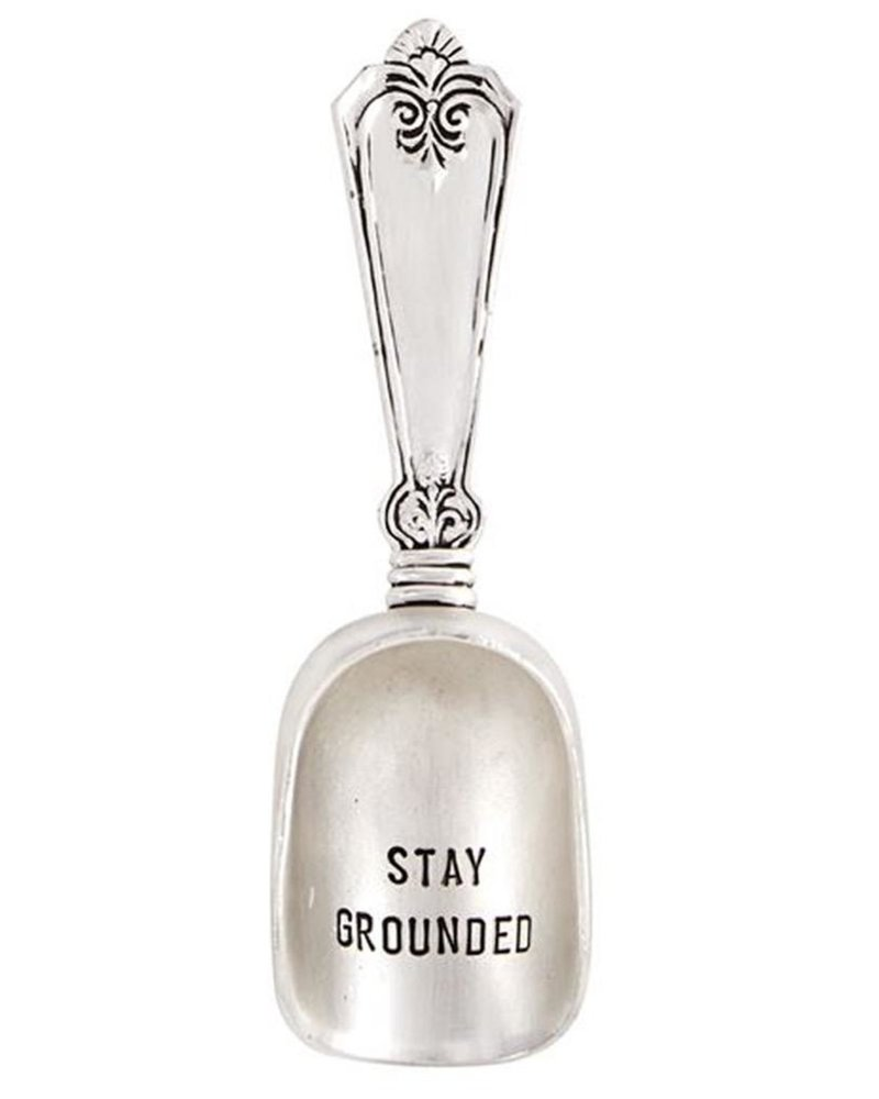 Mud Pie Circa Coffee Scoop, Stay Grounded
