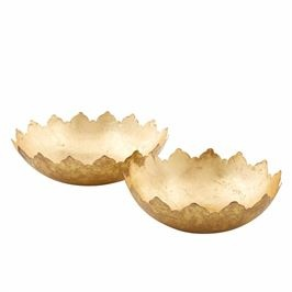 Bowl Set Decorative Gold Foil-1