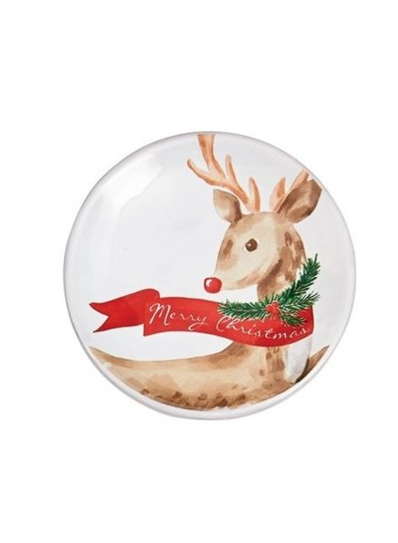 Mud Pie Dipping Dish Rudolph