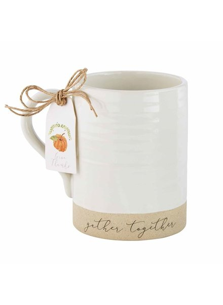 Mud Pie Mug Stoneware, Gather