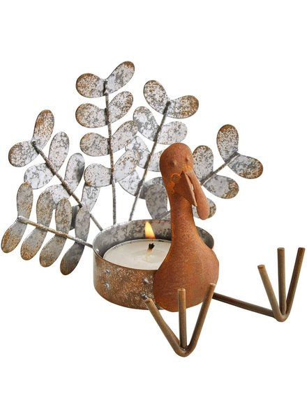 Mud Pie Tea Light Turkey