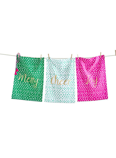 Tag Dish Towel Joyful S/3