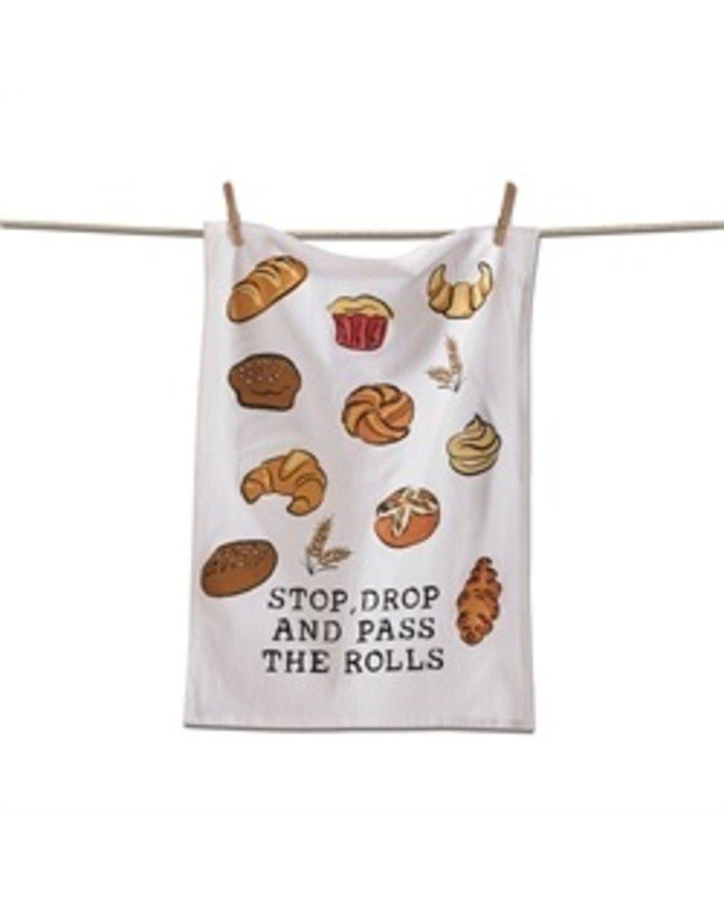 Tag Dish Towel Flour Sack Stop Drop