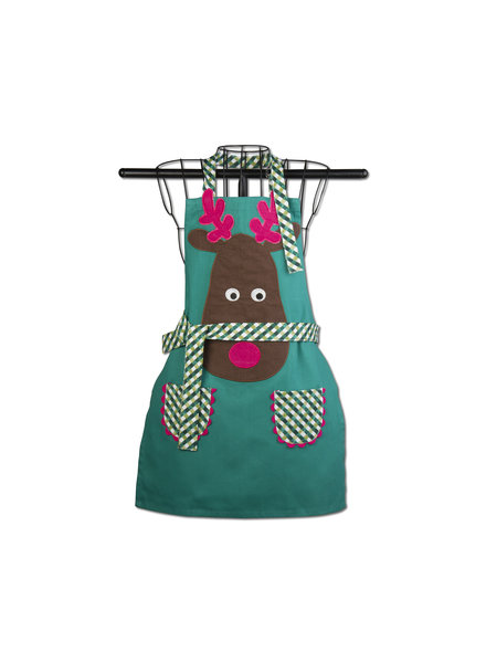 Tag Kids Apron Joyful Reindeer
