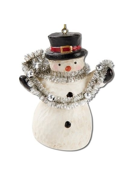 Ornament Snowman & Garland