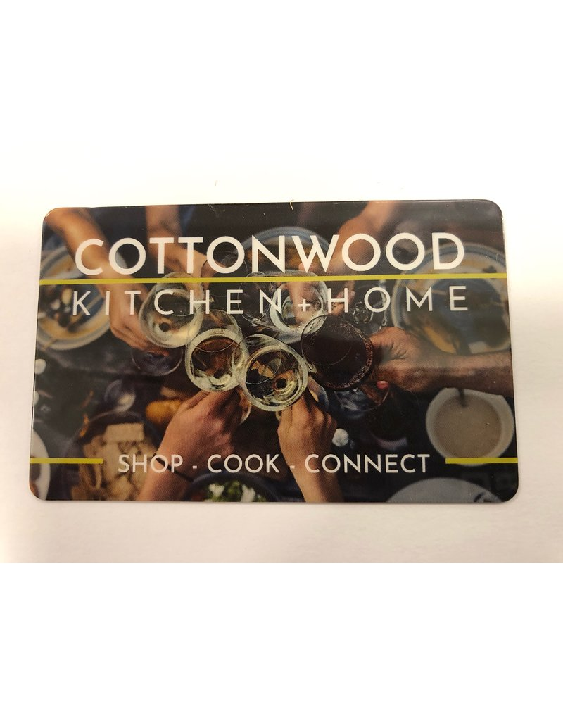 Cottonwood Kitchen + Home $25 Gift Card