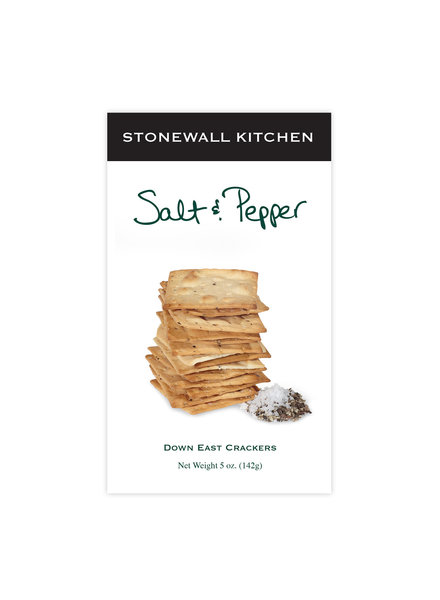 Stonewall Kitchen Crackers Salt & Pepper