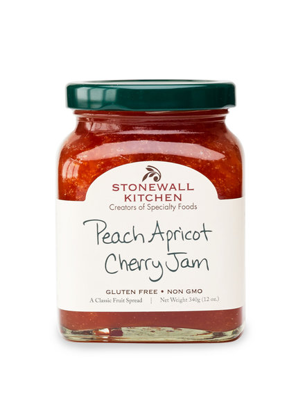 Stonewall Kitchen Jam Peach Apricot Cherry