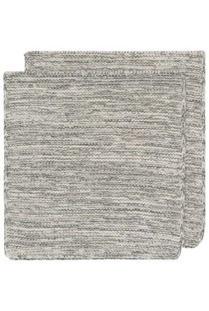 Heirloom Knit Dishcloth S/2 Jade