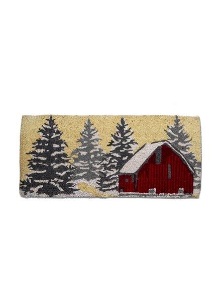 Tag Coir Mat Estate  Winter Sketch Barn