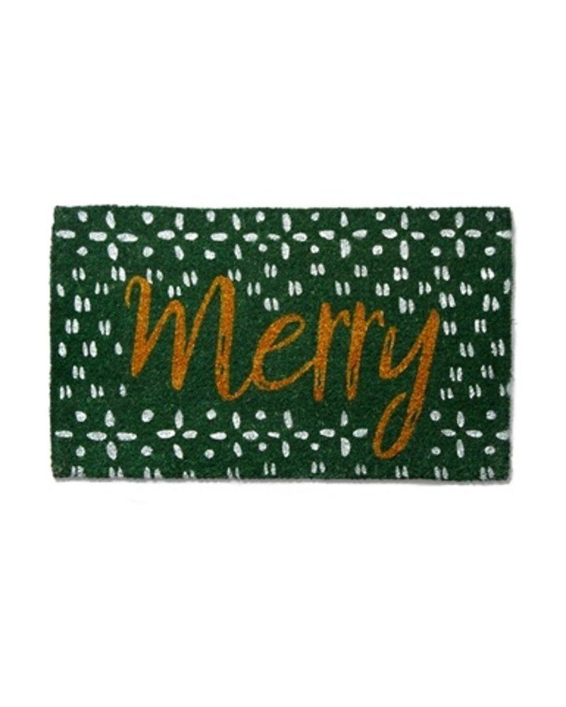 Tag Coir Mat Merry