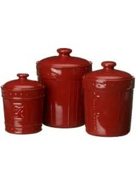 Canisters Sorrento Ruby