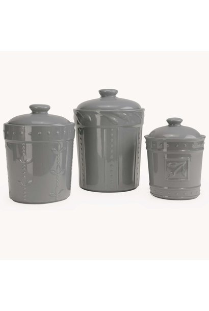 Canister Sorrento Gray