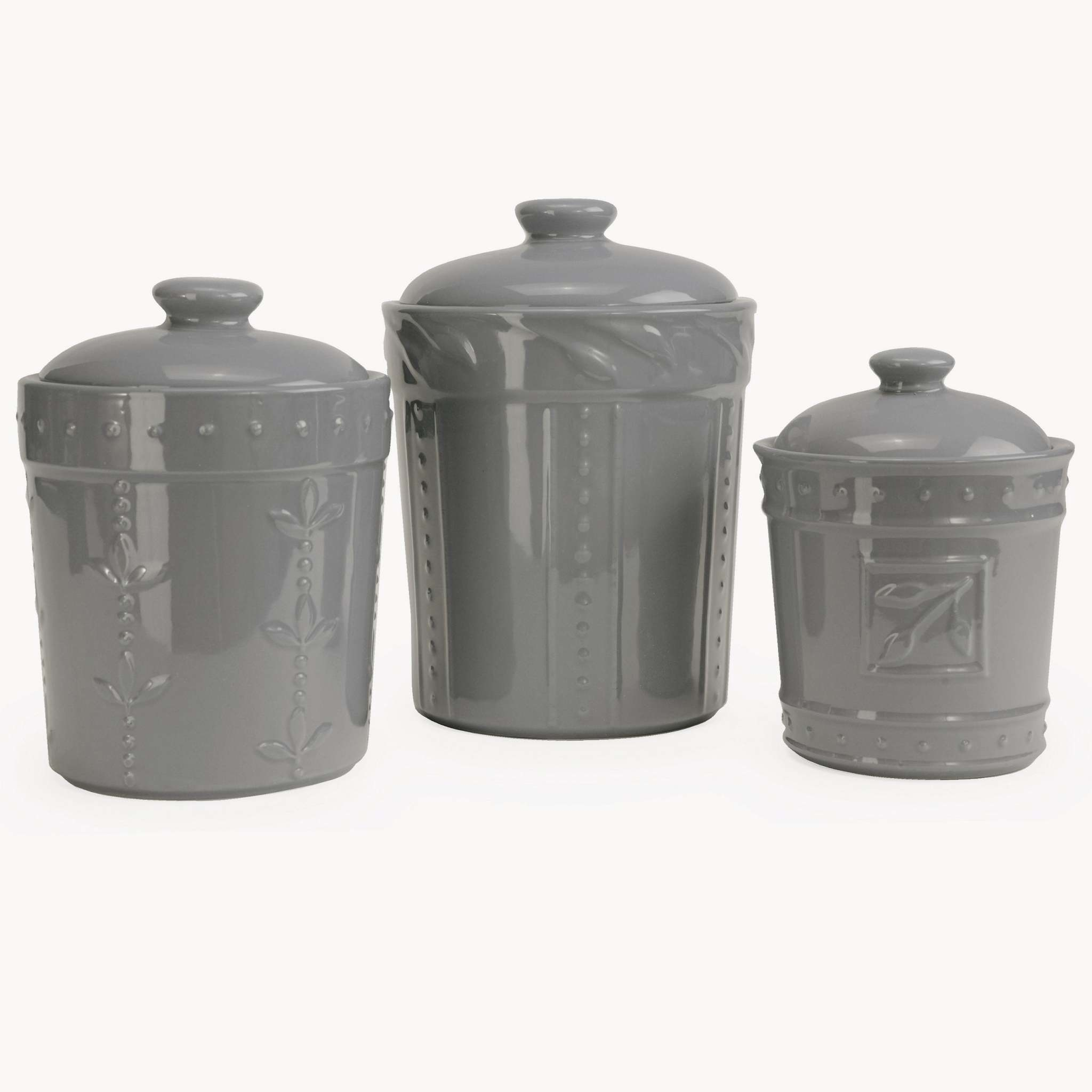 Canister Sorrento Gray-1