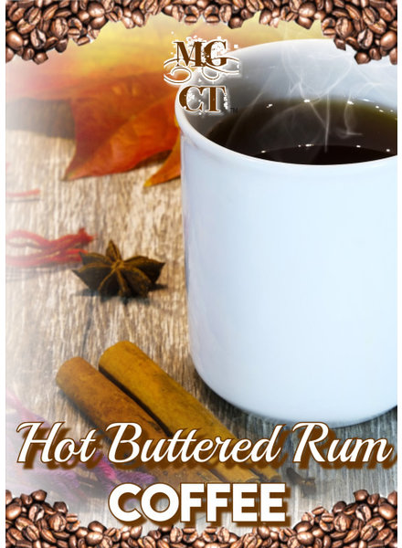Pre-Pack 12oz Hot Buttered Rum Coffee