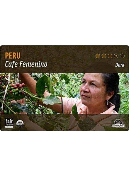 Peru Cafe Femenino .25 LBS