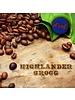 Dark Canyon Coffee Highlander Grogg Decaf .25 LBS