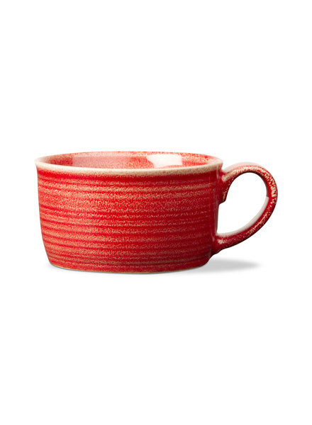 Loft Soup Mug Red