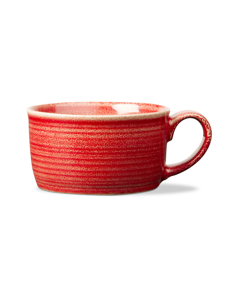 Tag Loft Soup Mug Red