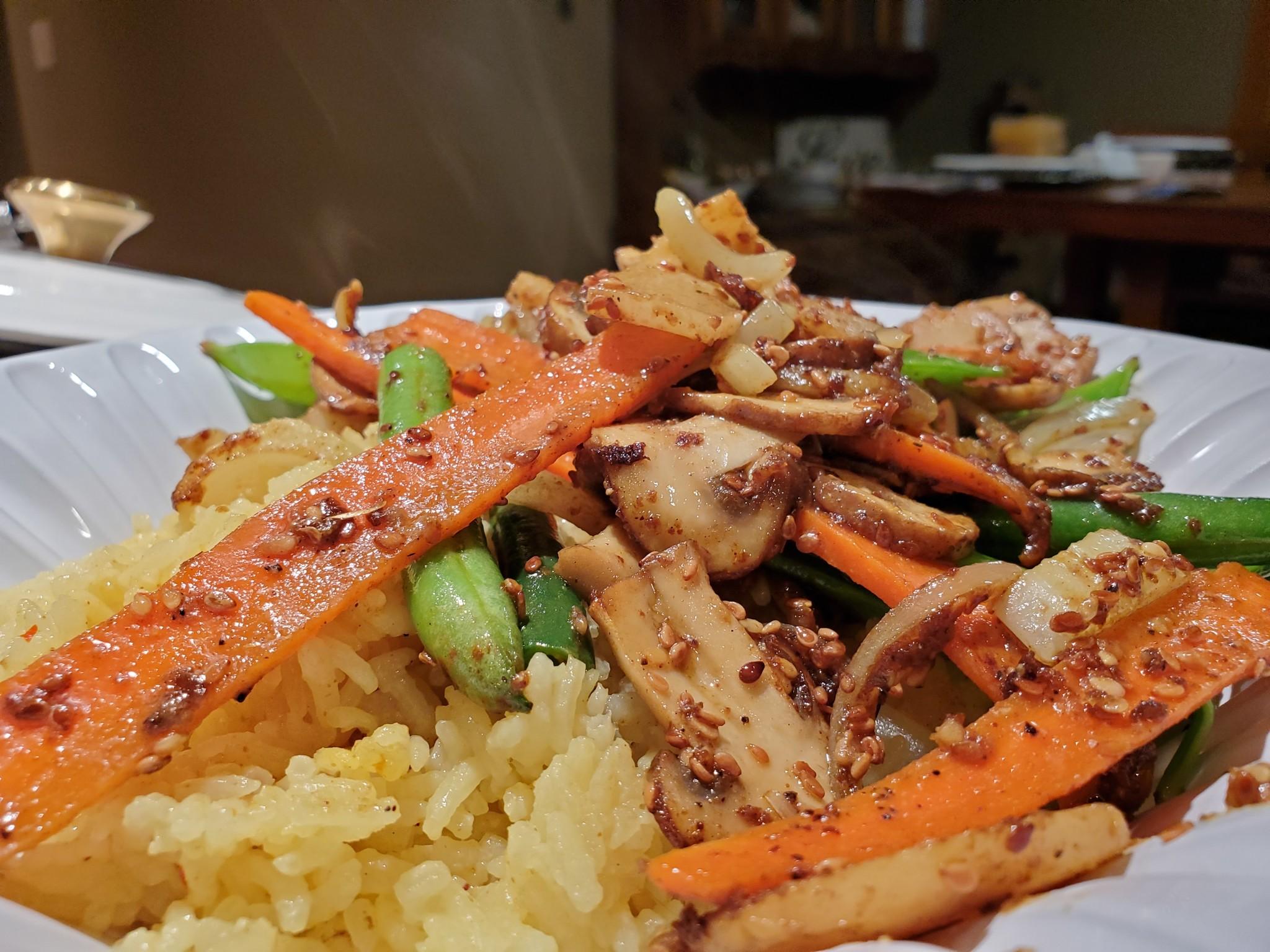Stir Fry & Rice! Basic Recipes + Techniques & Advice