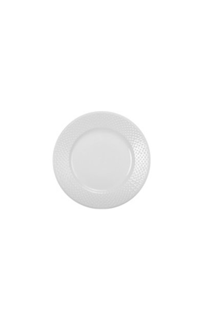 Salad Plate Tabula, White
