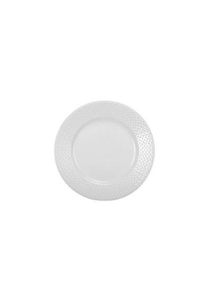BIA Cordon Bleu Salad Plate Tabula, White