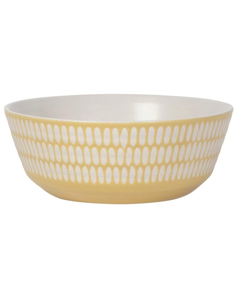 Danica Bowl Ochre Imprint