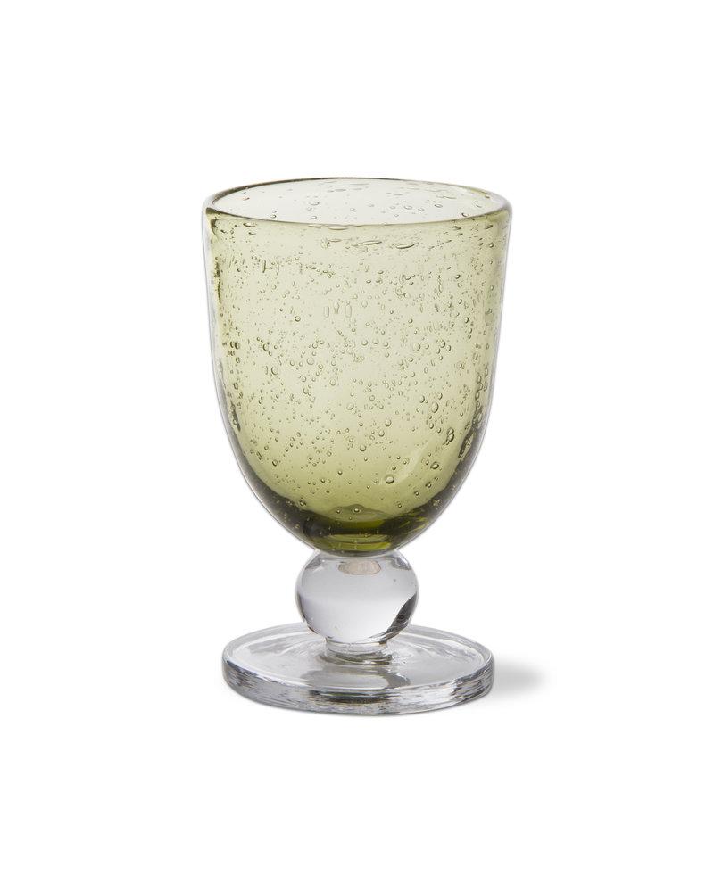Bubble Glass Foliage Goblet