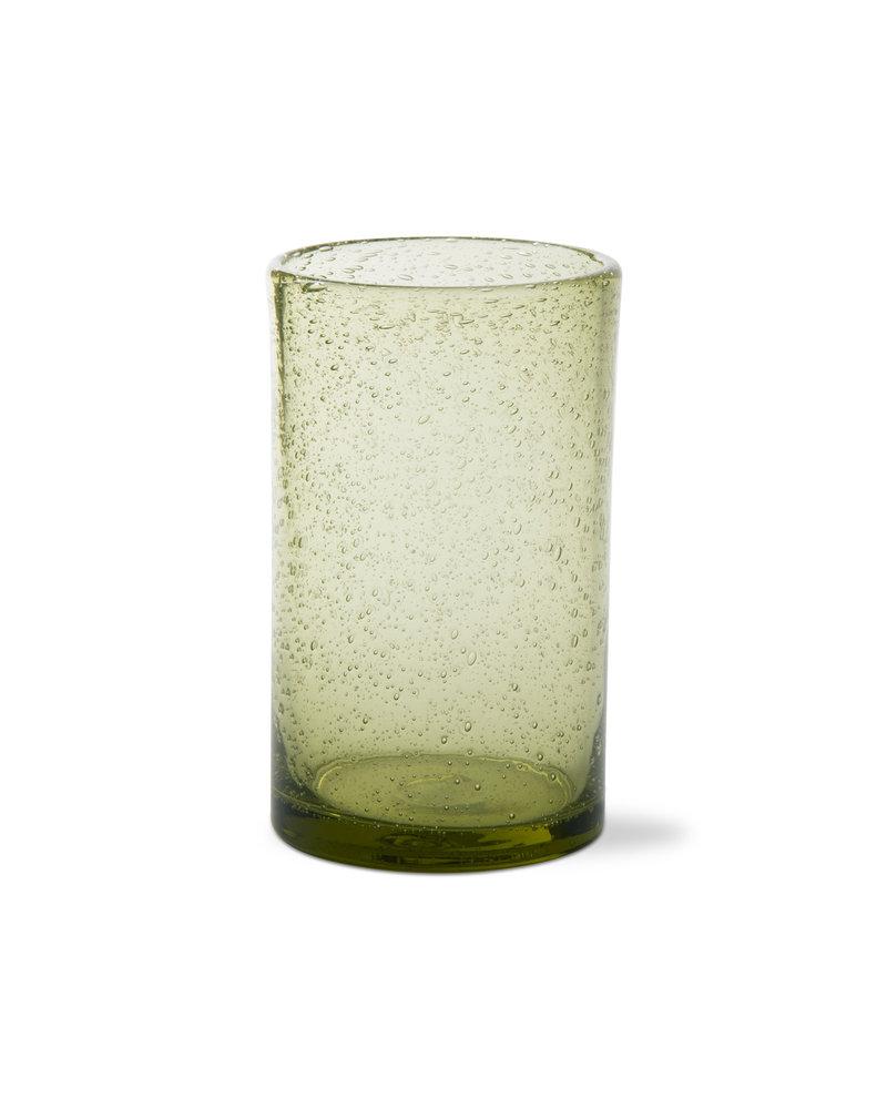 Tag Bubble Glass Foliage Tumbler