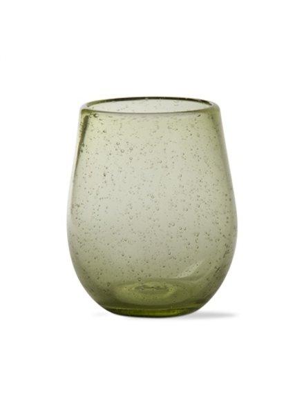 Bubble Glass Foliage Stemless