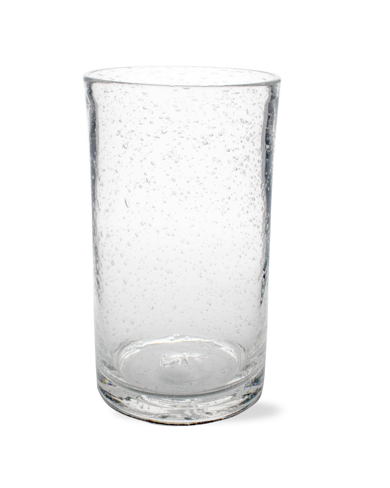 Tag Bubble Glass Clear Tumbler