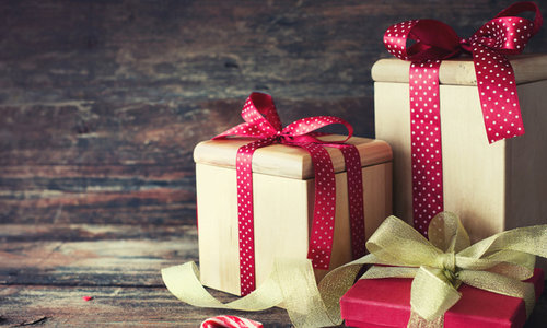 Holiday Preparation Gift Giving