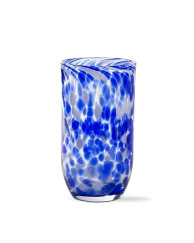 Tag Confetti Blue Tumbler